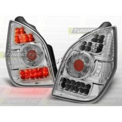 Citroen C2 2003-10 zadné LED lampy chróm (LDCI01)