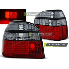 VW Golf 3 09.91-08.97 zadné LED lampy Red smoke (LDVW50)
