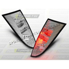 Ford Focus MK1 1998-04 zadné LED lampy chrome (LDFO03)