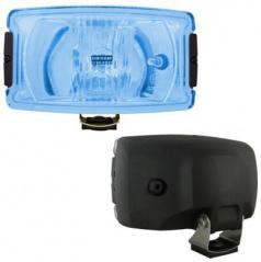 Prídavné diaľkové svetlo hranaté veľké - blue