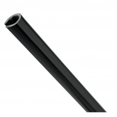 Chránící lišta do hrany dveří 650 mm černá 2 ks