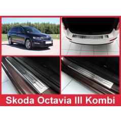 Sada nerez doplnkov 5 ks Škoda Octavia III kombi