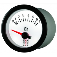 Stack elektronický budík tlak oleja 52 mm ST3251