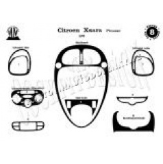 Citroen Picasso - dekor prístrojovej dosky v prevedení Titan- Citroen Tuning