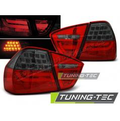 BMW E90 03.2005-08.2008 zadné lampy red smoke LED BAR (LDBMC6)