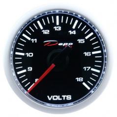 Prídavný budík Depo Racing voltmeter 52 mm