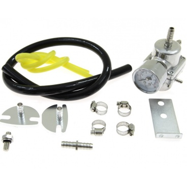 Regulátor tlaku paliva s manometrom a príslušenstvom