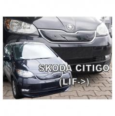 Zimná clona - kryt chladiča horná - Škoda Citigo, 2017+ po facelifte
