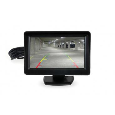 """Monitor TFT 4,3 """"pre parkovacie senzory s kamerou"""