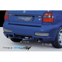 Škoda Felicia Facelift (od r.v. 98) Zadný nárazník - model 2003 (prevlek)