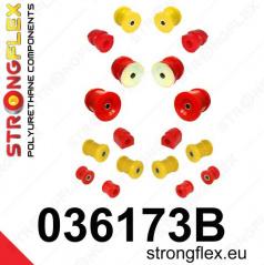 BMW rad 7 Strongflex kompletná zostava silentblokov 14 ks