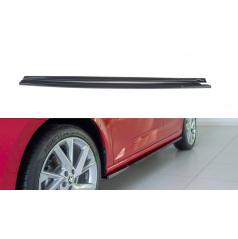 Difúzory pod bočné prahy pre Škoda Scala, Maxton Design (Carbon-Look)