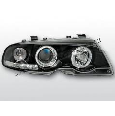 BMW E46 99-03 Angel Eyes black (LPBM49) - coupe, cabrio
