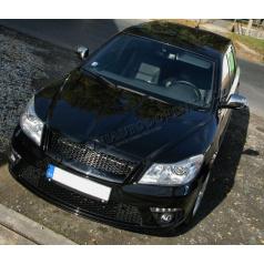 Nerez chrom kryty zrkadiel Škoda Octavia II Facelift 09+