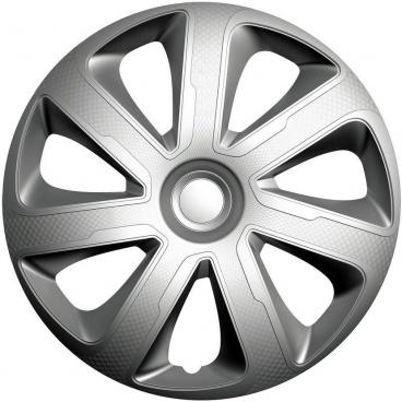 """Kryty kol LIVORN carbon silver 13-16"""" (sada 4 ks)"""