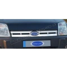 Ford Connect 06+ nerez chróm kryt prednej masky Omsa