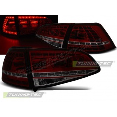 VW Golf 7 2013+ zadné lampy red smoke LED GTI Look (LDVWG1)