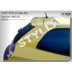 Fiat Stilo 3D (02+) spoiler zadných dverí horný