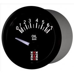 Stack elektronický budík tlak oleja 52 mm ST3201