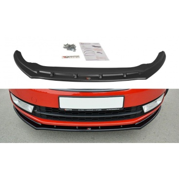 Spoiler pod predný nárazník ver.2 pre Škoda Rapid, Maxton Design (plast ABS bez povrchovej úpravy)
