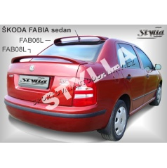 Škoda Fabia sedan spoiler zadnej kapoty (EÚ homologácia)