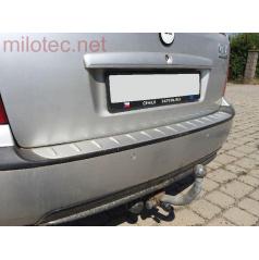 Prah piatych dverí s výstupky, ABS-strieborný, Škoda Octavia I Combi