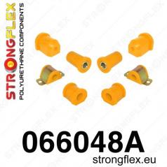Fiat Seicento 1998-08 Strongflex Šport zostava silentblokov len pre prednú nápravu 8 ks