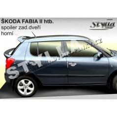 Škoda Fabia II htb spoiler zadných dverí horný (EÚ homologácia)