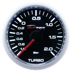 Prídavný budík Depo Racing CSM tlak turba elektrický 52 mm
