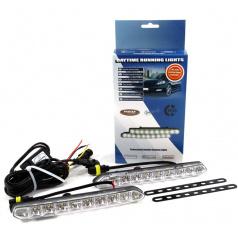 Světla pro denní svícení DRL 810 ver.3 10 x SMD 185 x 20 x 40 mm