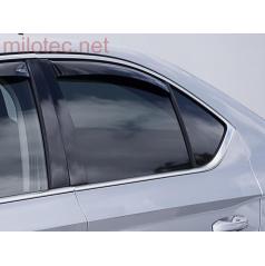 Zadné deflektory okien (deflektory), Superb III. Limousine, 2015+