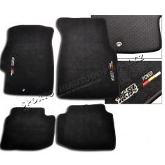 Honda Civic 96-00 luxusní sportovní textilní koberce se znakem Mugen
