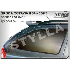 Škoda Octavia II combi 04+ spoiler zadných dverí horný (EÚ homologácia)