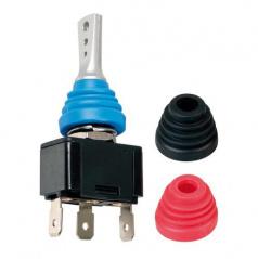 Vypínač s farebnými krytmi 12 / 24V - 20A