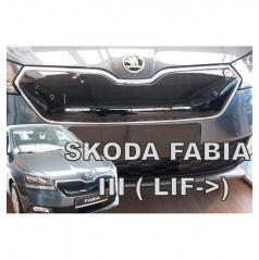Zimná clona - kryt chladiča horná - Škoda Fabia III, 2018-, po facelifte