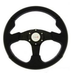 Športový volant RS-TYPE čierny 350 mm