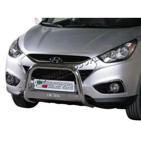 NEREZ chrom přední ochranný rám MISUTONIDA s logem - Hyundai iX35