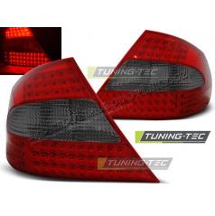 MERCEDES CLK W209 2003-2010 ZADNÍ LED LAMPY RED SMOKE (LDME42)