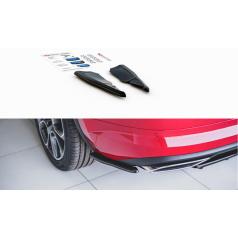Bočné difúzory pod zadný nárazník pre Škoda KodiaQ RS, Maxton Design (plast ABS bez povrchovej úpravy)