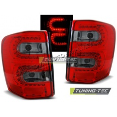 Chrysler Jeep Grand Cherokee 1999-05.2005 zadní lampy red smoke LED (LDCH09)