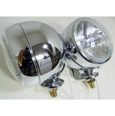 Prídavné diaľkové svetlá kovová Retro