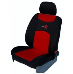 Autopoťahy Type R-Škoda Superb I-nedelená zadná sedačka + lakťová opierka-červené