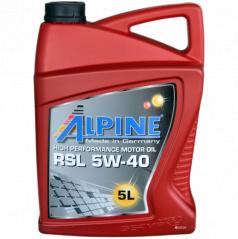 Motorový syntetický olej Alpine RSL 5W-40