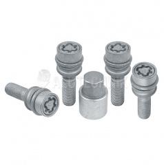 Pojistné šrouby M14x1,5x36 kulová R14 (pohyblivá), klíč 19
