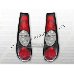 Fiat Punto I zadné lampy black (LTFI07)