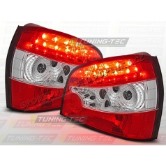 AUDI A3 (8L) 1996-03 zadné LED lampy RED WHITE (LDAU01)