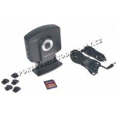 Čierna skrinka - Kamera so záznamom obrazu, GPS