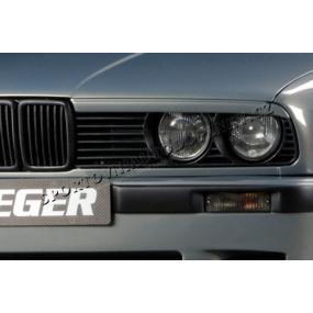 BMW E30 (řada 3) Mračítka předních světlometů (D 00109122)