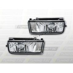 BMW E36 90-99 hmlové svetlá chróm (HABM01)