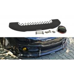 Spoiler pod přední nárazník pro Škoda Fabia RS Mk1 Maxton Design (plast ABS bez povrchové úpravy)